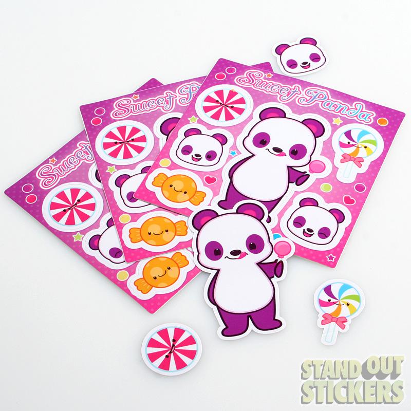 Custom Kiss Cut Sticker Sheets
