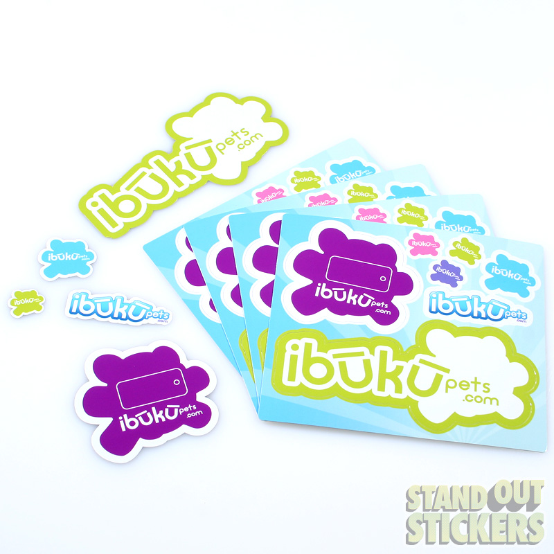 Custom Stickers Die Cut Stickers Custom Sticker Printer The - Custom die cut vinyl stickers how to apply