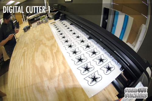 Digital Cutting - Short Run Stickers