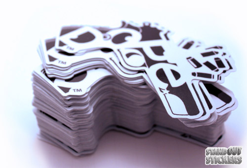 Recent Custom Die Cut Sticker Job StandOut Stickers Blog - What are custom die cut stickers