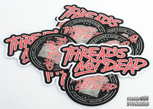 Threads Not Dead Sticker Set