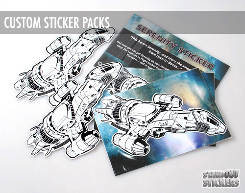 Serenity sticker packs