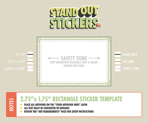 Custom Diecut Stickers - StandOut Stickers