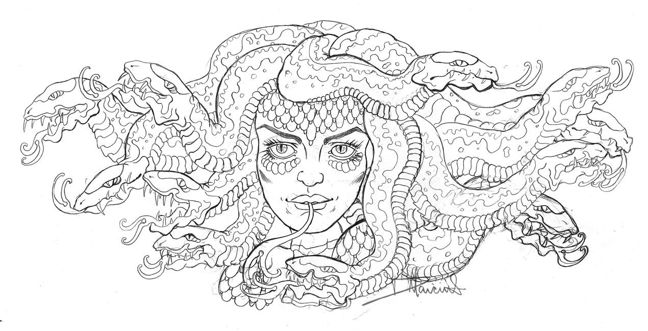 Preview March 2013 Medusa By Danielle Marciniak