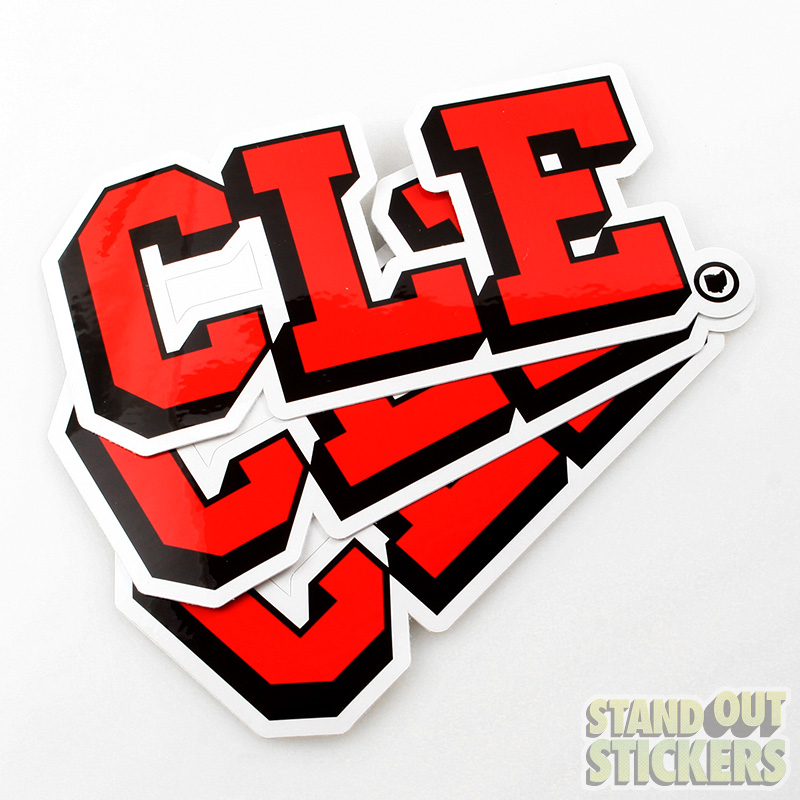 Custom stickers die cut stickers made in usa