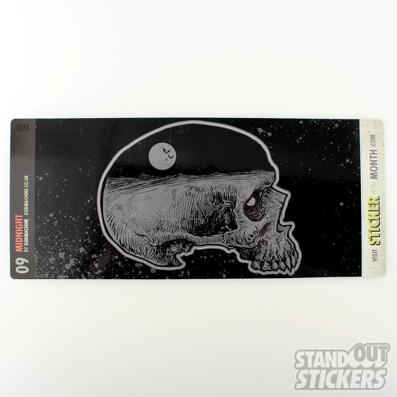 Godmachine Midnight Collectable Art Sticker