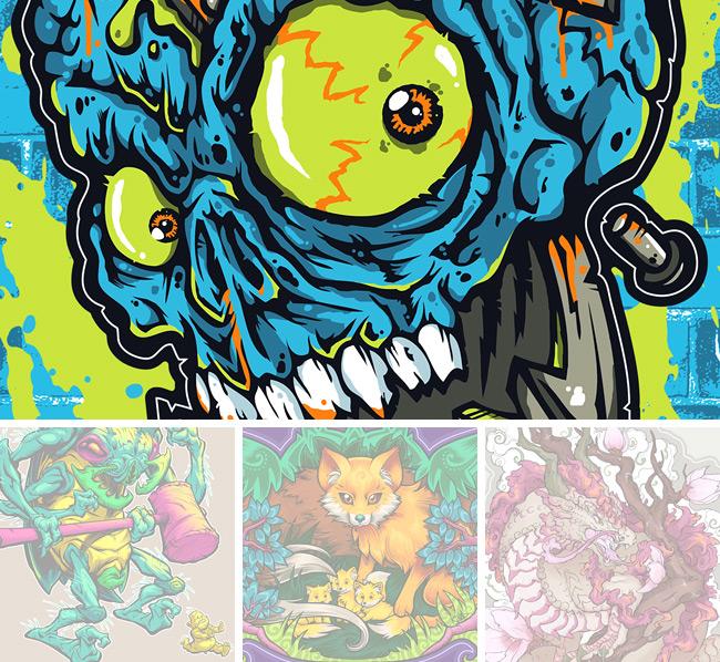 kyle crawford, electric zombie, jared moraitis, beast pop, kina forney, sixth leaf clover