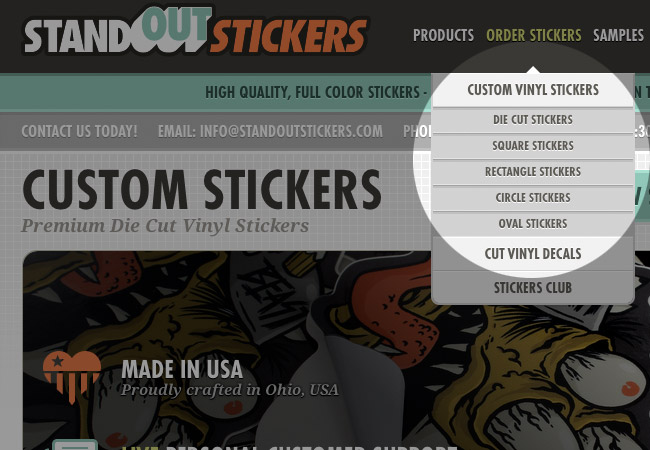 Review Your Custom Stickers Order StandOut Stickers Blog - Order custom stickers