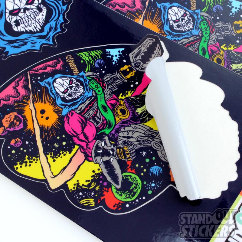Alexis Ziritt Space Wizard Sticker