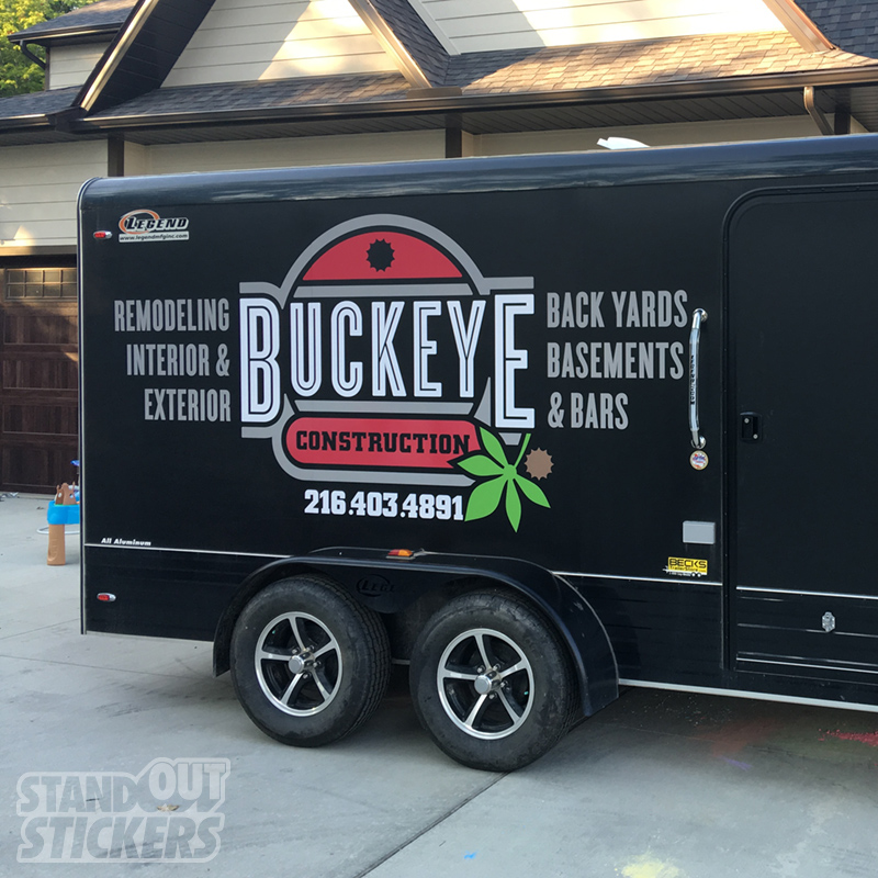 Custom Trailer Decal Graphics