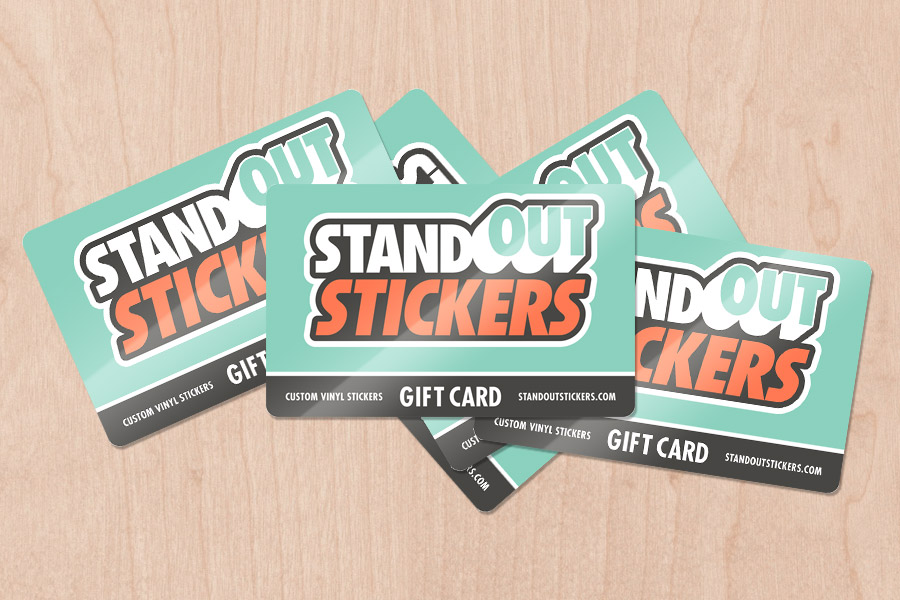 StandOut Stickers Gift Cards