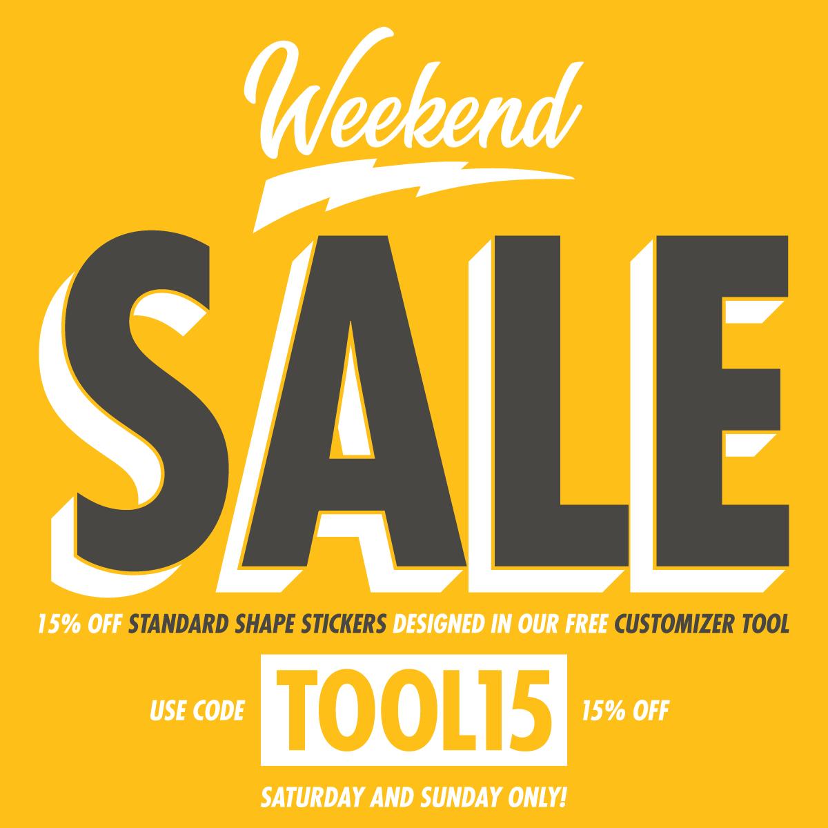 Ti9 Weekend Sale: Custom Stickers, Die Cut Stickers, Custom Sticker Printer