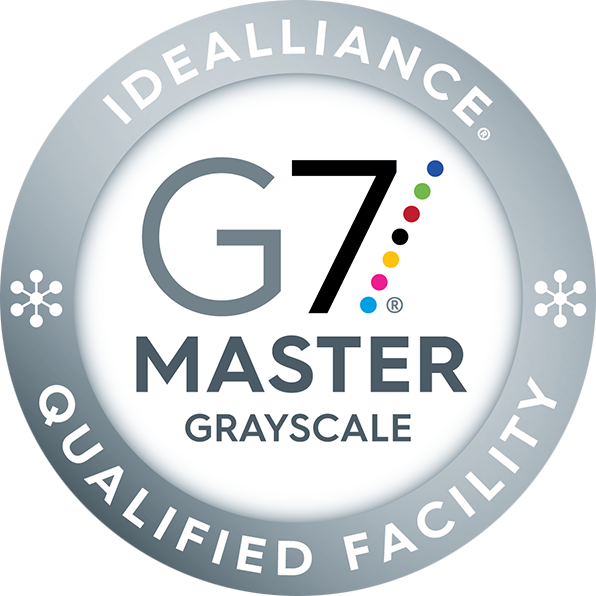 G7 Master Facility Grayscale Badge