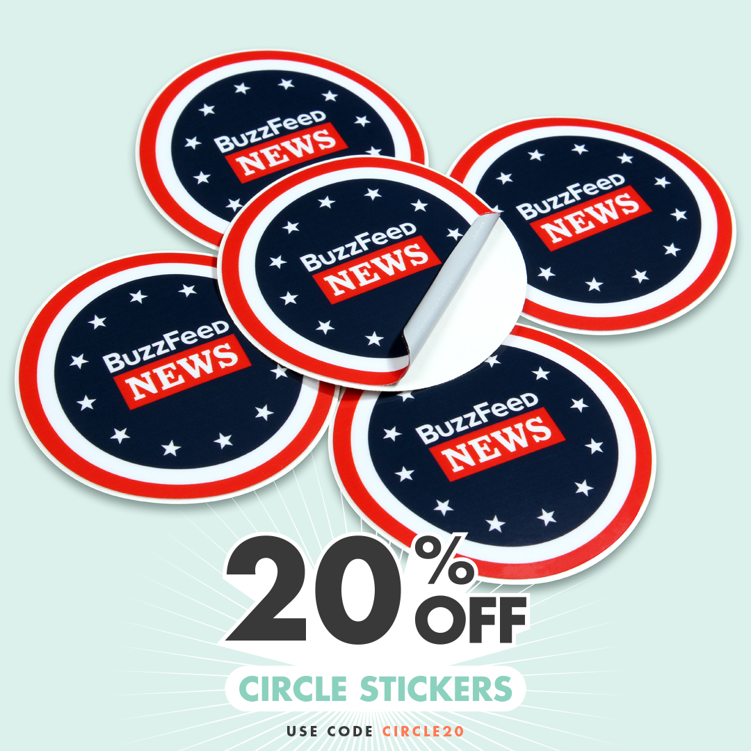 Circle Stickers 20% Off with code CIRCLE20